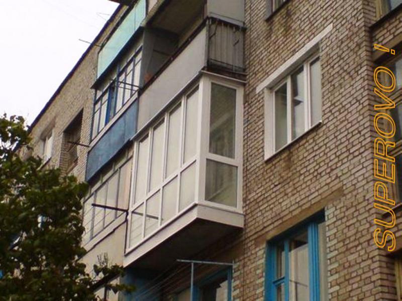 Установка балконных рам в барановичах. беларусь, брестскаЯ о.